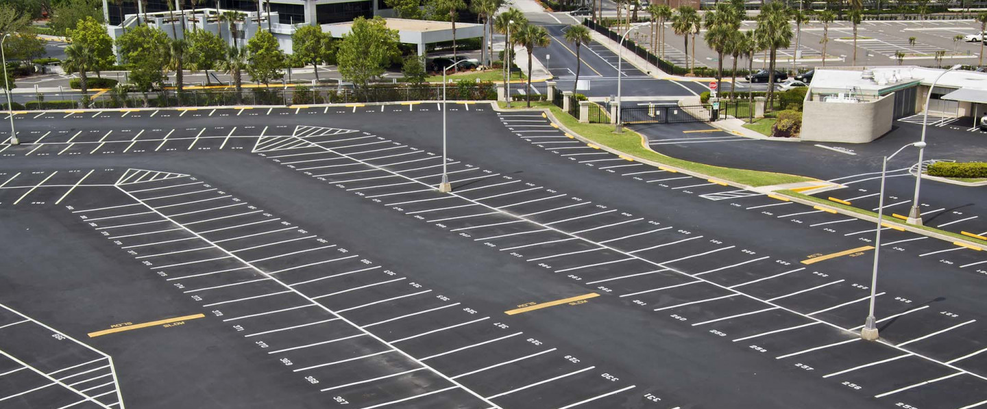 paved parking lot, ruston la